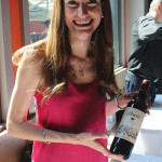Romina Liz Picciotto of Elixir Wine Group with Alberti Malbec.