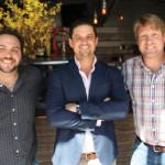 Matt Messina, General Manager, Harlan Publick; Matt Murphy, President, Murphy Distributors; Stephen Lewandowski, Owner, Harlan Publick.