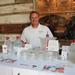 Salute American Vodka's Chris Palumbo. Salute Vodka donates $1 from every bottle sold to support veterans' charities.