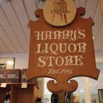 Inside Harry's Wine & Liquor Market.