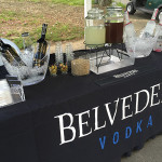 Belvedere Vodka was a featured offering for the participating golfers.
