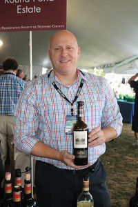 James Anci of Round Pond Estate.