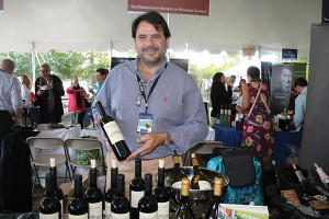 Augusto Gabriel, Territory Manager, MundoVino, a member of The Winebow Group.