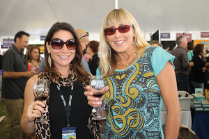 Kristin Denice and Debbie Noonan, Jonathan Edwards Vineyards of Connecticut.