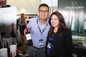 Milton Mezon, Commercial Director, JC Imports Co., with Sharon Alcocer, Regional Sales Manager, JC Imports Co.
