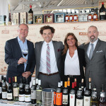Antonio Zacchero of Carpineto Winery; Christopher Wirth, New York State Manager, Opici Wines; Deborah Cesari, Cesari Fine Wines of Verona; Scott McDonald, CSW, CT State Manager, Opici Wines.