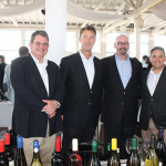 Simon Barlow, Rustenberg Wines of South Africa; Stuart Downes, Indigo Wine Group; Steve Mann, S.J. Mann Selections; Marty De La Rose, Director of Sales, Trinitas Cellars of Napa Valley.