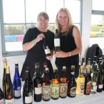 Laura Roth and Liz Fortugno of Brotherhood Winery of New York.