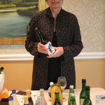 Kathleen Flynn representing the sake portfolio of JFC International, Marchetta Company.