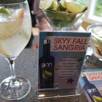 Skyy Fall Sangria cocktail.