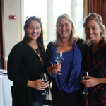 Sarah Smith, Sheila Frost and Courtney Eslin all from the Courthouse Bar and Grill in Putnam.