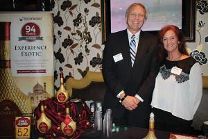 Jim Sokol and Michele Maillet, Somrus Indian Cream Liqueur.