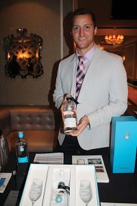 Patrick Langworth, Northeast Sales Director, Casa Dragones Tequila.