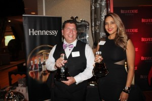 George and Christina Haverly representing Hennessy.