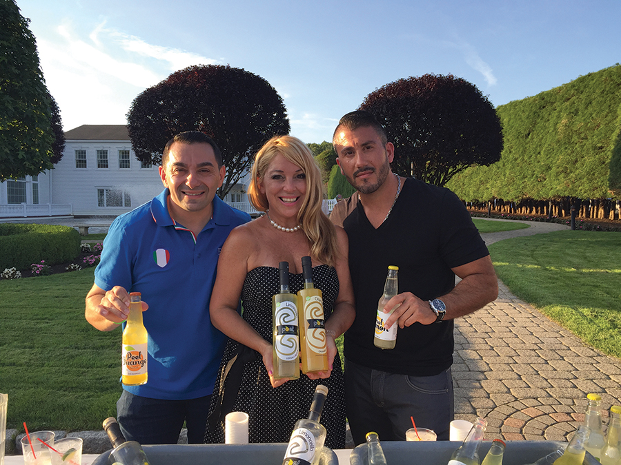 Angelo Mastrodomenico, Director of Product Development, Peel Liqueur; Beverage Specialist Donna Taylor; Gianfranco DiDomenico, Chief Operating Officer, Peel Liqueur.