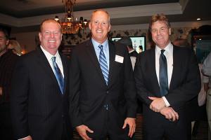 Kevin Dunn, Regional President, Breakthru Beverage; John Parke, President, CDI; Michael Evans, CDI.