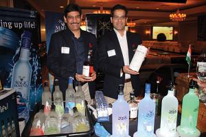 Sanjeev Banga, President International Business, Radico Khaitan Ltd., with Kunal Madan, Radico Khaitan Ltd.