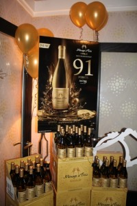 Menage a Trois Gold Chardonnay.