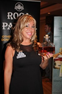 Beverage Professional Donna Taylor with Roca Patron.