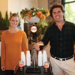Melissa Bishop, Head of Operations, Rise Coffee; Jarrett McGovern, Co-Founder, Rise Coffee.