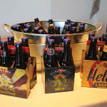 Victory Brewing Company's Golden Monkey Belgian Tripel; Dirtwolf Double IPA; and Helles Lager.