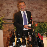Phil Passalacqua, Regional Manager, Brescome Barton with Santa Margherita and Foley wines.