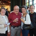 All from Country Liquors in Bolton: Mimie Landolphi; Michael Landolphi; Angela Crespo; Tony Crespo, Owner.