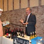 Michael Murphy, Account Development Manager, Brescome Barton showcasing wines of Ste. Michelle Wine Estate.