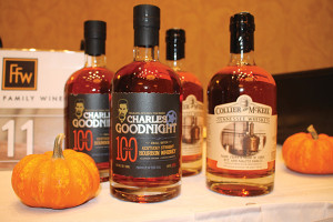 Foley Family Wines' Whiskey Collier, McKeel Whiskey and Goodnight Bourbon.