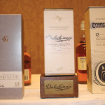 Glenkinchie 12 Year Old; Dalwhinnie 15 Year Old; Cragganmore 12 Year Old.
