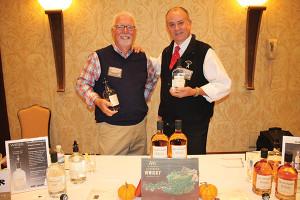 Ted Creighton, Sales, Weinbauer with Daniel J. Hogan, Regional Sales Manager New England, Weinbauer.