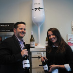 Joe Antosca, Division Manager, The Wine Group and Sarah Buchanan, Chloe Brand Specialist, The Wine Group.