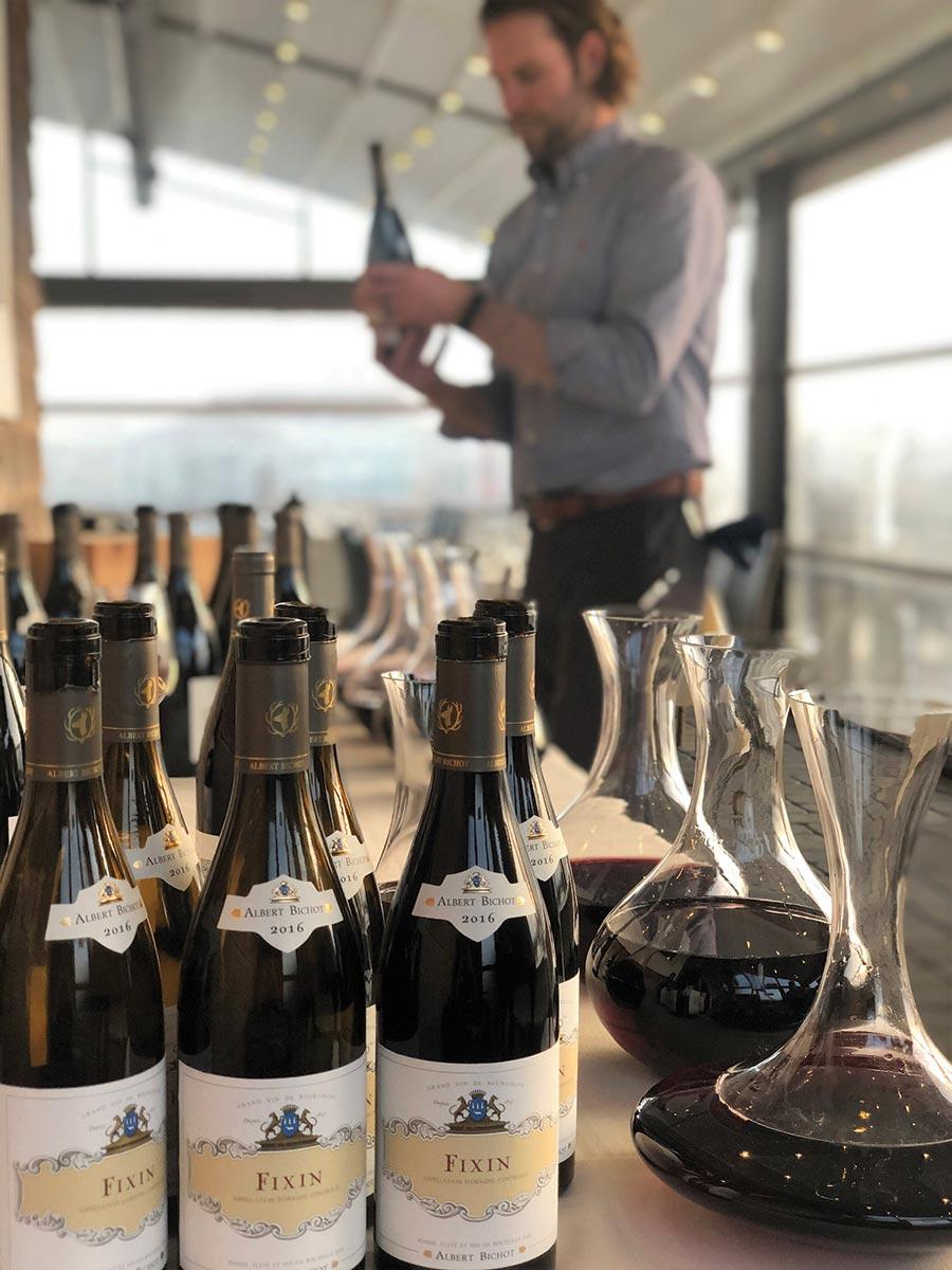 Matunuck Oyster Bar Hosts Maison Albert Bichot Pairing Dinner