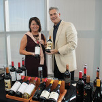 Pam Gallagher and Steven Veldran, Rutherford Wine Company.