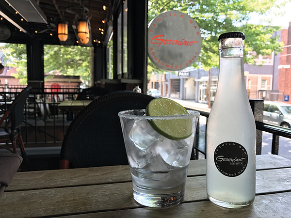Geronimo Tequila Bar Offers New Carbonated Margaritas