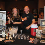 Northeast Director Abbi Miller and Ed Goll, both of Real McCoy Rum, offered guests sample cocktails with an original recipe crafted by Dan Meiser of Oyster Club and Engine Room, who was recognized as the Restauranteur of the Year.