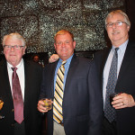 All with CRA's Vendor of the Year, Rogo Distributors: Clem Sayers, General Manager; Steve Hayes, Sales Representative; and Bill Hannon, Sales Manager.