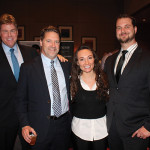 All of Connecticut Distributors, Inc. (CDI): Mike Evans, Division Manager; Pete Kawulicz, Business Manager; Sandra Terenzio, Portfolio Manager Moet Hennessy; and Paul Mazurek, Manager.