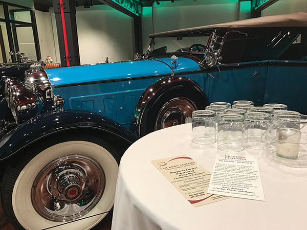 Vickers' Liquors Hosts Bourbon Tasting at Audrain Auto Museum