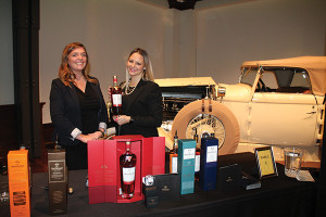 Kayleigh Speck, Innovation Brand Activator, Edrington Americas; Jackie Connetti, Innovation and Market Manager RI, Edrington Americas featuring Macallan products.