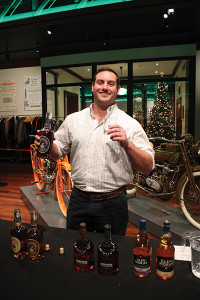 Will Calhoun of Johnson Bros. of RI Co., featuring Michter's, Dalmore and Glen Moray whiskies and bourbon.