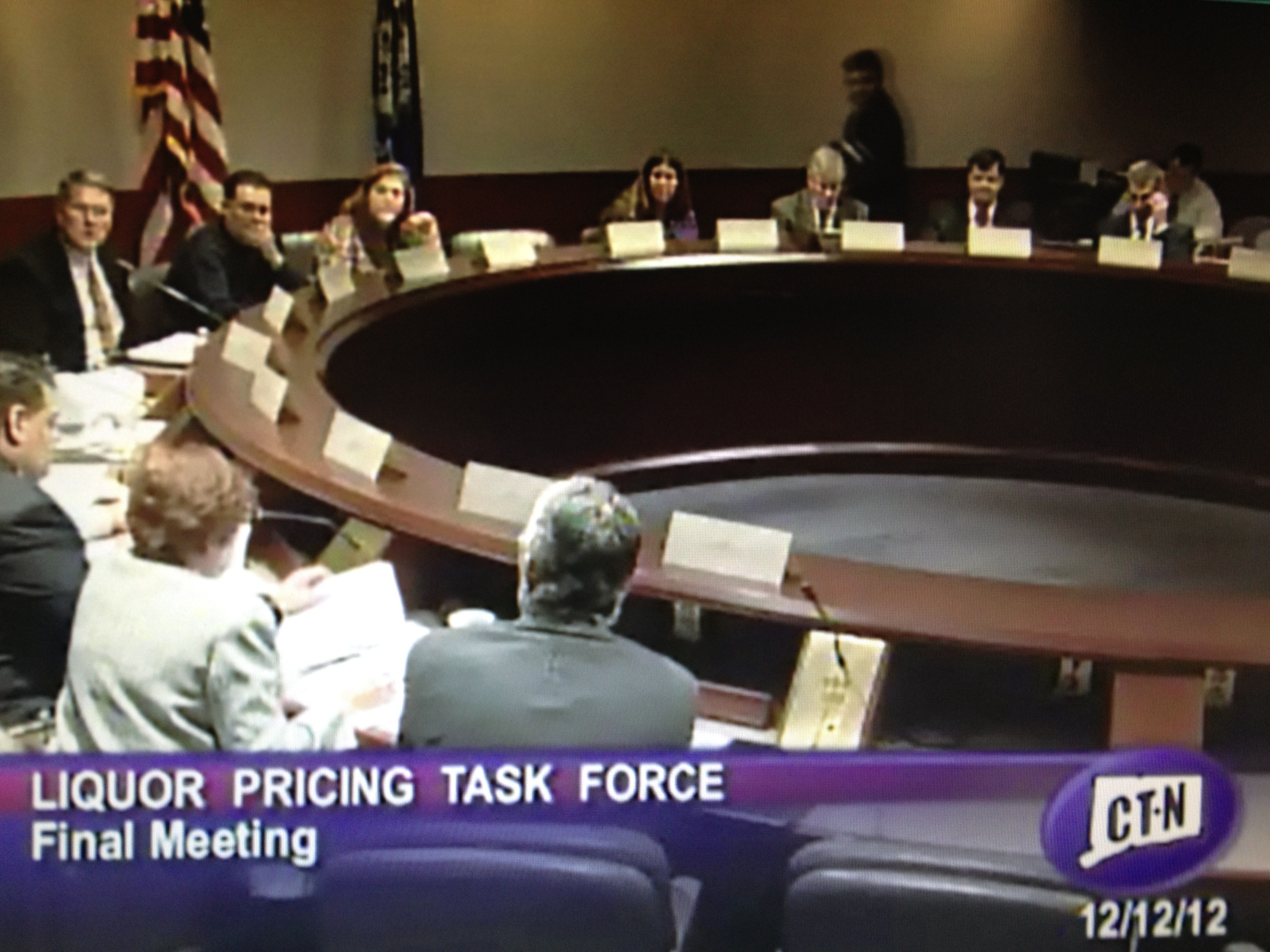 Task Force Holds Final Meeting Dec. 12; Task Force Economist Gives Exclusive Interview
