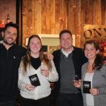 Pete Kowalczyk, Co-founder, Onyx Spirits Company; Nicollette Burns, Allan S. Goodman; Adam von Gootkin, Co-founder, Onyx Spirits Company; Denise Swistak, Allan S. Goodman.