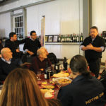 Carlos Figeroa, Owner of J.C. Imports, led members from the Knights of the Wine Table of Rhode Island through an educational wine tasting.