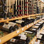 Inside Dick's World of Wines.