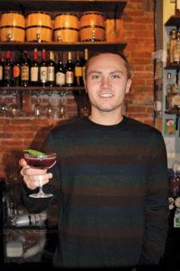 Bartender Dylan Sheak