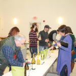 Trade guests during the Worldwide Wines and Brescome Barton tasting.
