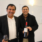 Rash Patel of Oxford Liquors in Manchester and Ashvin Ghetiyg of Co-Op Package Store in Stafford Springs.