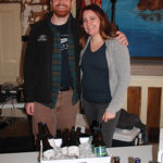 Alex Brown, Rhode Island Sales Representative, Thimble Island Brewing Company; Shawna Dietz, Premium Wine and Spirit Sales Specialist, Johnson Brothers.