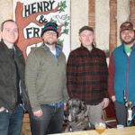 All from Henry and Fran Brewing Company: Bennett Harrington, Jeremiah Hawley, Tim Westerman and Zach Laegel.